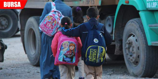 Öğrencilerin çanta eziyeti