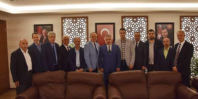 BTTDD Bursa Şubesi'nden siyasi parti ziyaretleri