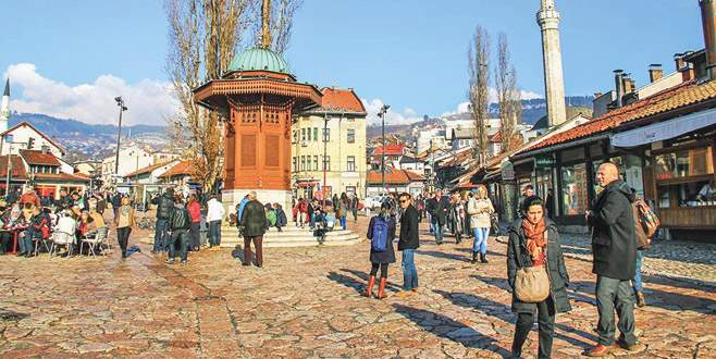 Saraybosna Başçarşı Sebili açılıyor