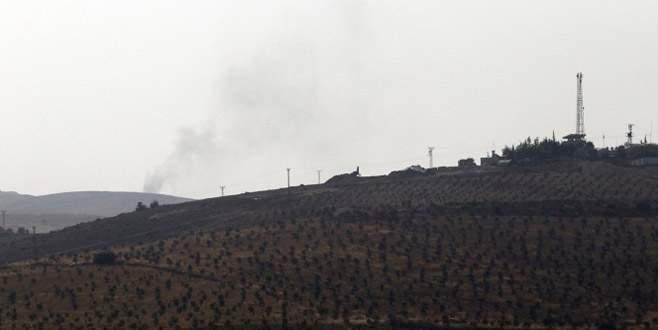 ÖSO'ya destek için top atışları yapıldı