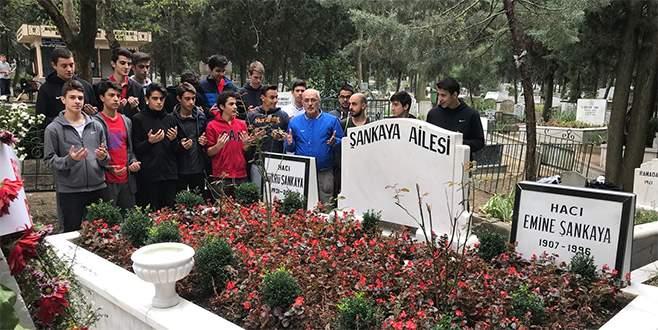 Yeşimsporlular Şankaya'yı andı