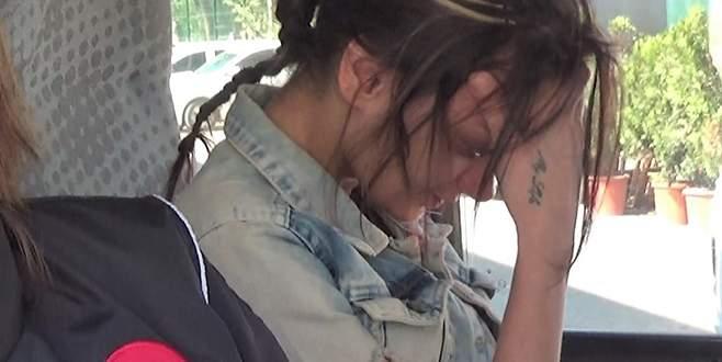 Genç kız ağlayarak adliyeye sevk edildi