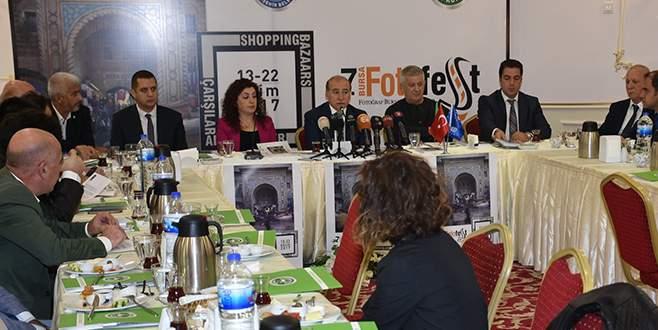 Fotoğrafın dünyaca ünlü isimleri Bursafotofest'te