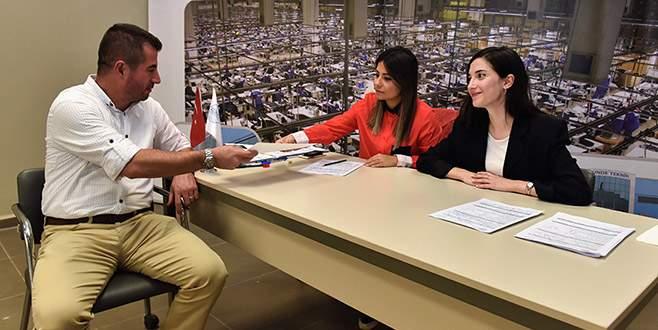 Bursalı firmalardan 5 bin 300 işçi talebi