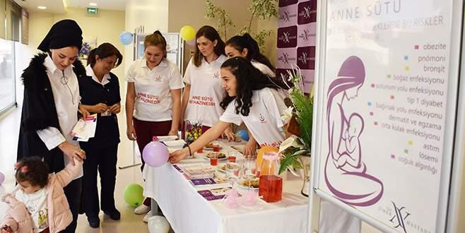 Özel Jimer Hastanesi'nde Emzirme Haftası etkinliği