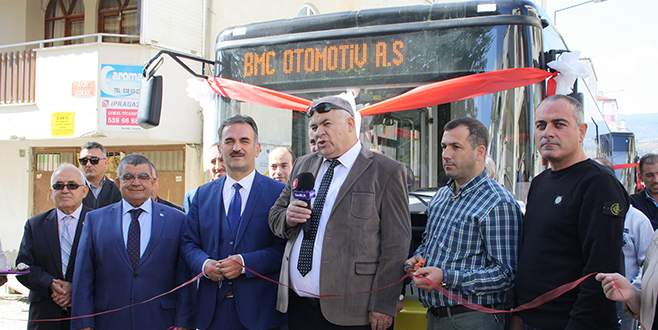 Kumla'da otobüsler yenilendi