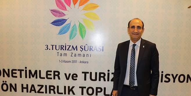 Başkan Edebali Turizm Şurası Komisyonu'nda