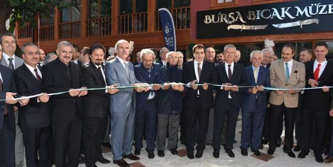 Bursa Bıçak Müzesi kapılarını açtı