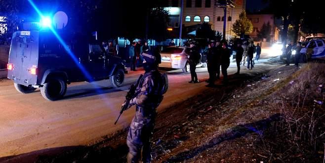 Bursa'da terör operasyonu: 8 gözaltı