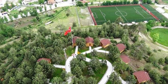 Harmancık'ta eko turizme büyük ilgi