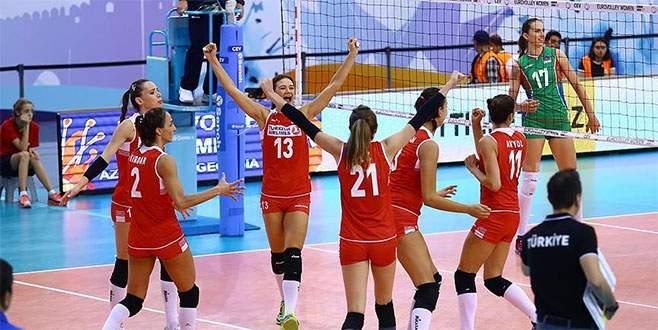 A Milli Kadın Voleybol Takımı Avrupa üçüncüsü