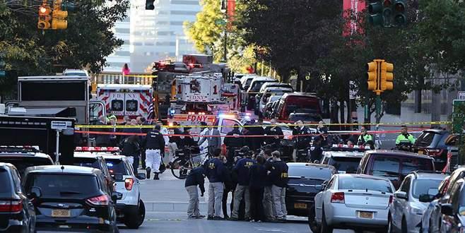 New York'taki saldırıda ölenlerin sayısı 8'e yükseldi