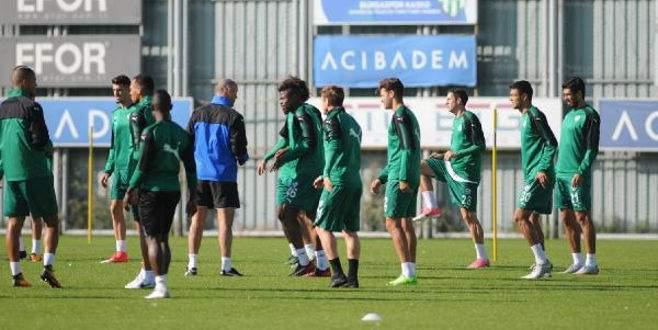 Bursaspor'a sakat oyunculardan iyi haber