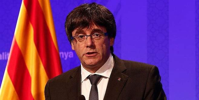 Katalan lider, Belçika'ya gitti