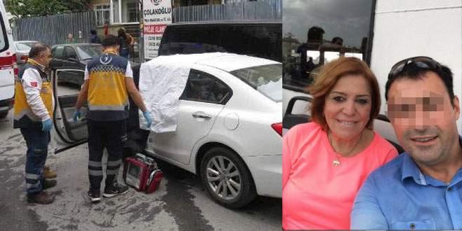 Aracında öldürülen kadının katil zanlısı yakalandı