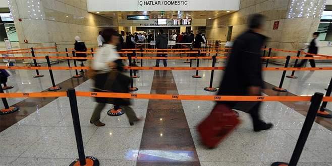 Havada yolcu sayısı 165 milyona yaklaştı