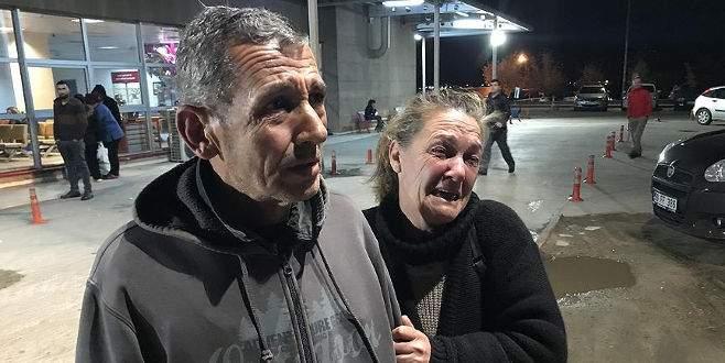 Çocuklarının evden attığı çift hastaneye sığındı