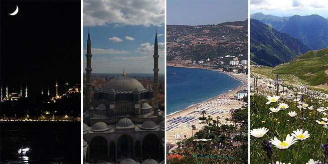 En çok ziyaret edilen kentler arasında Türkiye'den 4 şehir
