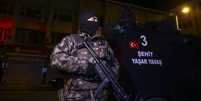 250 adrese DAEŞ baskını: 101 gözaltı