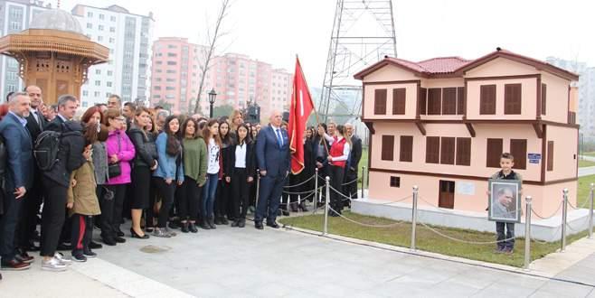 Atatürk'ün Selanik'teki evinin benzeri Bursa'da