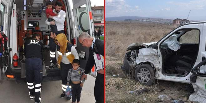 Bursa'da trafik kazası: 6 yaralı
