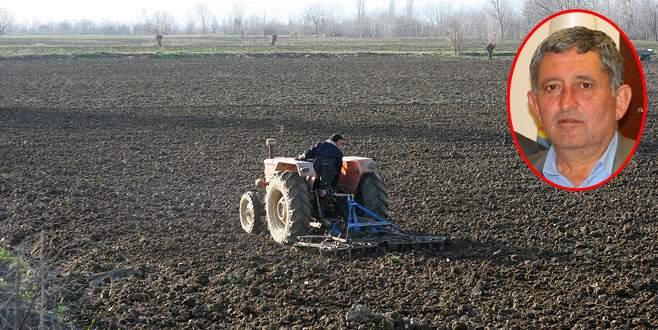 Buğday üreticisi yağmur bekliyor
