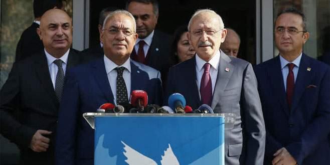 Kılıçdaroğlu'dan DSP'ye ziyaret