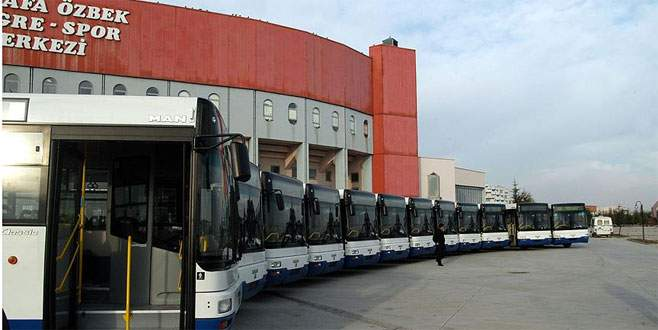 Ankara'da ulaşım 24 saate çıkarıldı