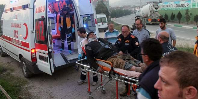 Bursa'da korkunç kaza: 6 yaralı
