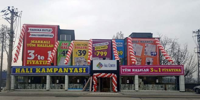 Bursa'da halı kampanyası başlıyor