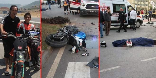'Tek teker Arif' ile kız arkadaşı kazada öldü