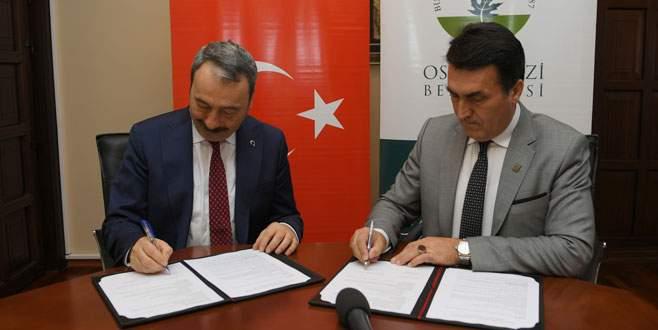 Osmangazi'den polise destek