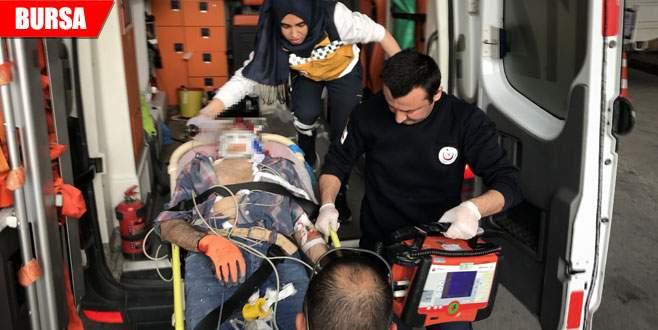 İnşaat iskelesinden düşen işçi ağır yaralandı