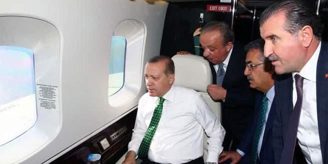 Erdoğan'dan helikopterle havadan denetim
