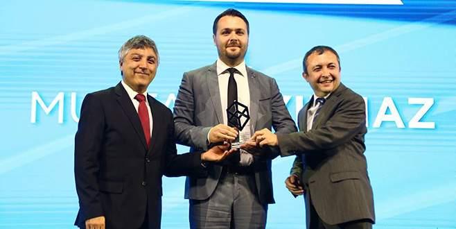 Nilüfer çalışanına tasarım ödülü