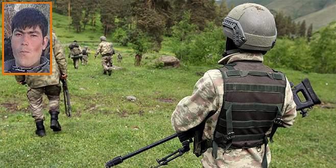 Turuncu kategorideki PKK'lı terörist öldürüldü