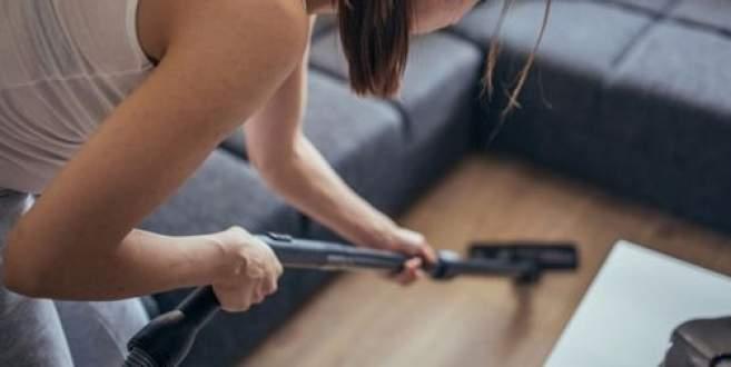 'Haftada 3 kez evinizi süpürün'