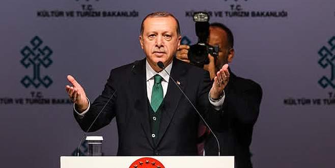 Cumhurbaşkanı Erdoğan, Yeni AKM Projesi'ni tanıttı
