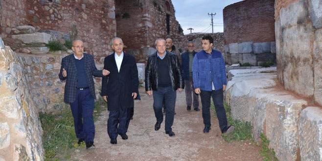 Danıştay Başsavcısı'ndan İznik'e sürpriz ziyaret