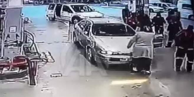 2 gaziyi darp eden 5 zanlı gözaltına alındı