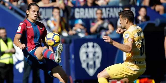 Enes, Levante kariyerine golle başladı