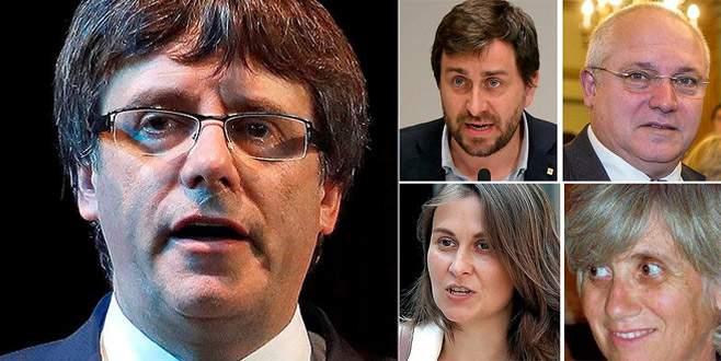 Eski Katalan lider ve 4 bakanı Belçika polisine teslim oldu