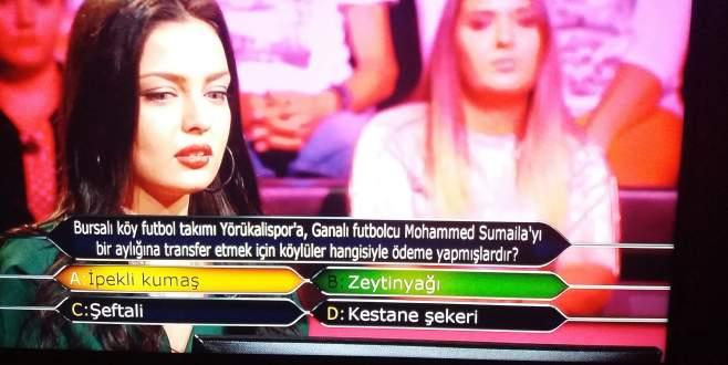 Bursa'da köy takımının yaptığı transfer 60 bin liralık soru olarak çıktı