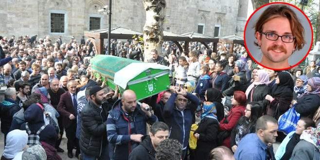 Oyuncu Cem Korkmaz'ın cenazesi Bursa'da defnedildi
