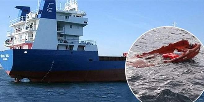 Şile'de batan gemiden acı haber