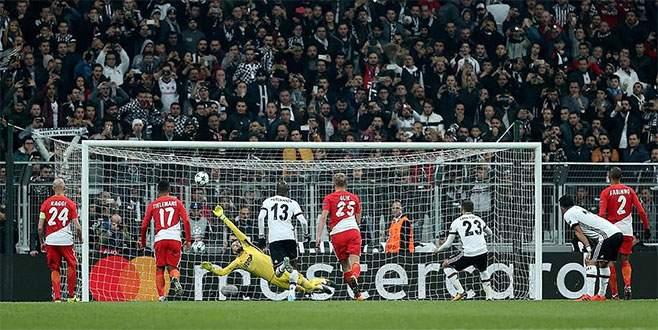 Beşiktaş, Monaco ile berabere kaldı