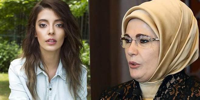Selin Şekerci'den Emine Erdoğan'a özür mesajı