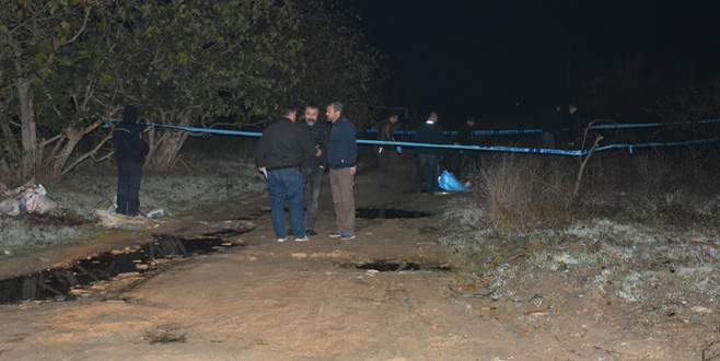 Bursa'da boğazı kesilmiş erkek cesedi bulundu