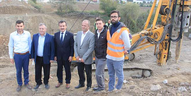 Akdere'ye yeni köprü