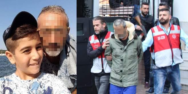 9 yaşındaki oğlunu öldüren baba tutuklandı